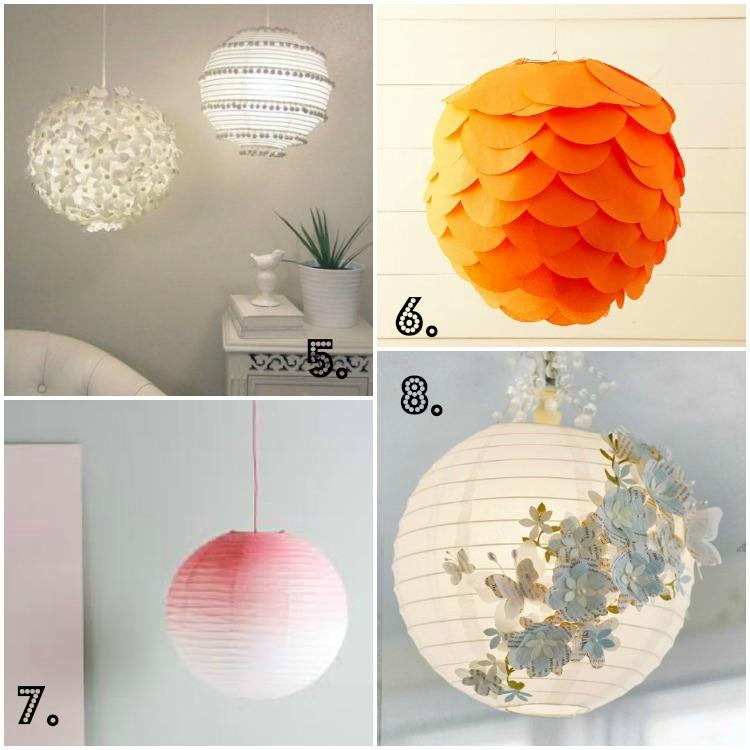 Diy met papieren bollampen life by rosie for Gekleurd papier action