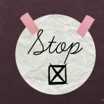 Mindstyle: Dingen waar je mee zou moeten stoppen
