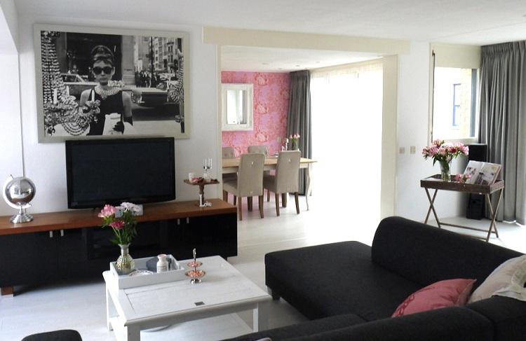 Gastblog binnenkijken bij christiana life by rosie Schilderij woonkamer