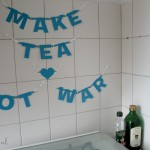 Do it yourself: make tea, not war!