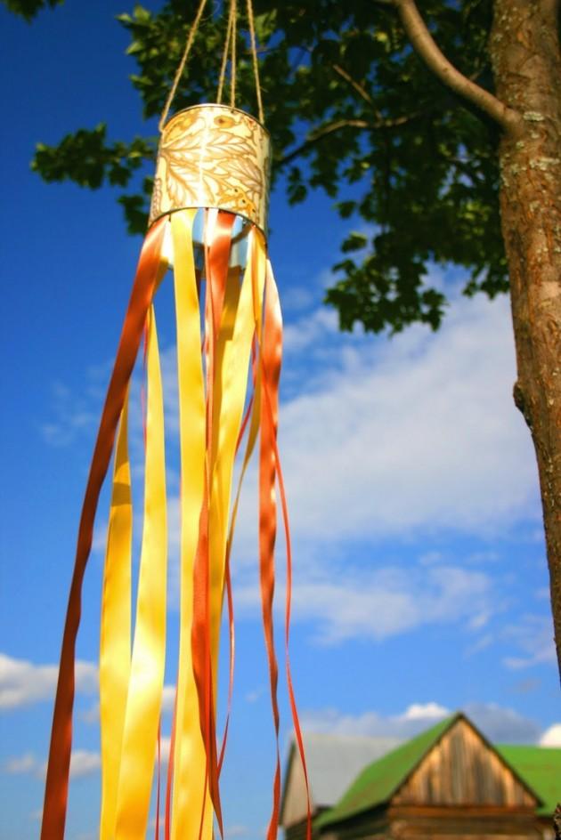 Как сделать ветряной рукав с детьми?