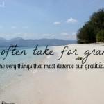 Mindstyle: grote dingen om dankbaar voor te zijn