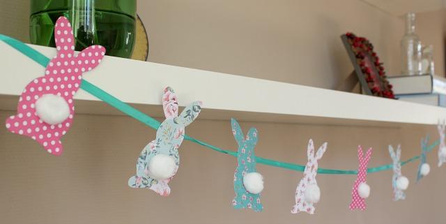 Diy slingers pasen knutselen 10 vrolijke slingers met for Zelf decoratie maken