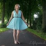 Outfit: mint summer dress