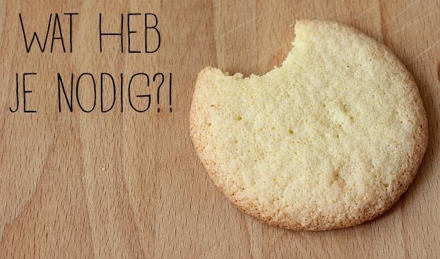 suiker koekjes recept