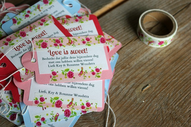 Bruiloft Do It Yourself De Bedankjes Life By Rosie