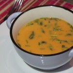 Recept: romige rode paprikasoep