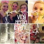 Vlog: sneak peek slaapkamer, Hema event en goodiebag!