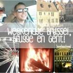 Video weekend weg naar Brussel, Brugge en Gent