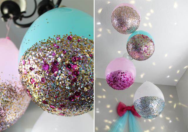 glitter-dipped-balloons