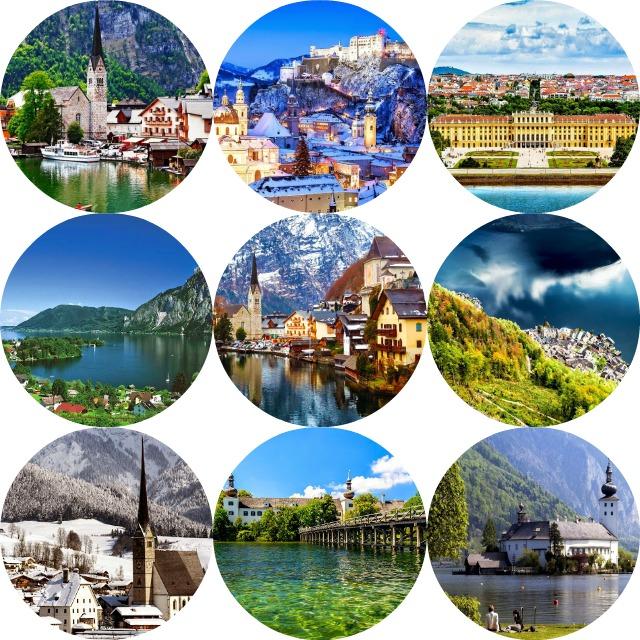 Oostenrijk collage