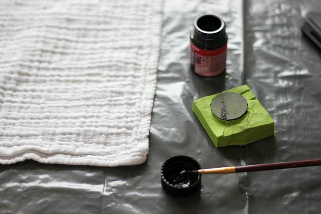 textiel bestempelen