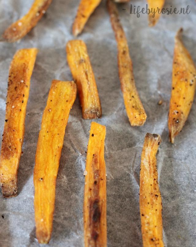 krokante zoete aardappel frietjes 2
