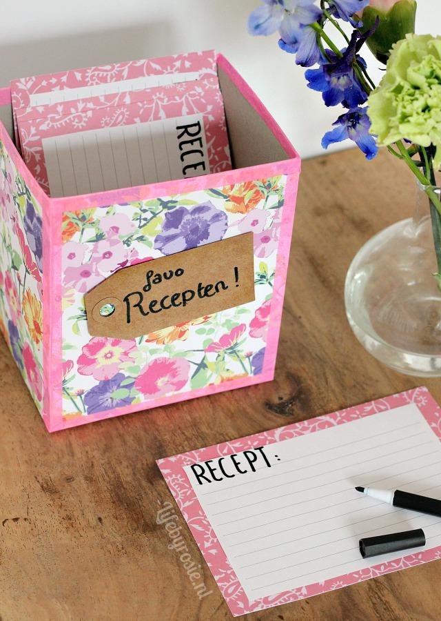 Favoriete recepten box