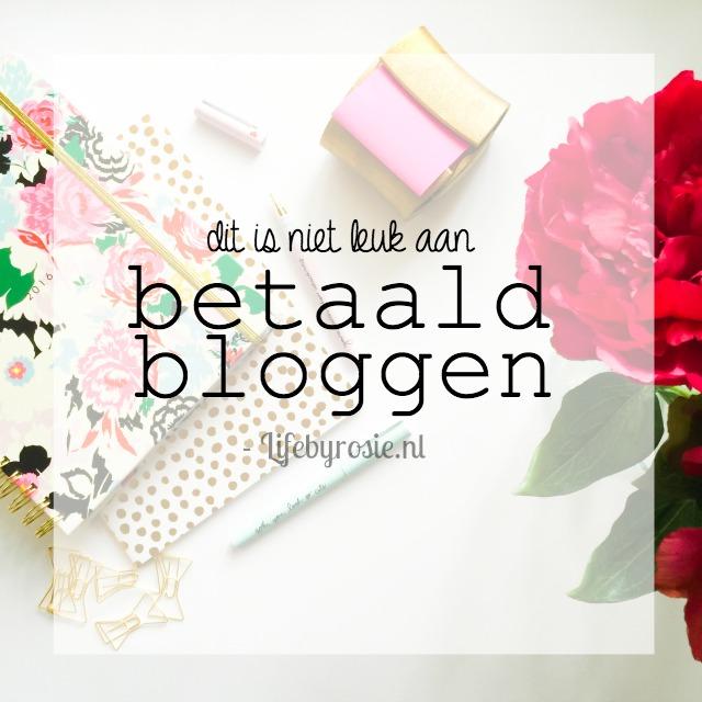 Betaald bloggen