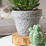 DIY: gehaakte bloempot (zonder te kunnen haken)!