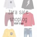 Shoplog Zara sale voor Flynn!