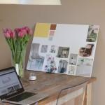 Ik volgde een super toffe workshop interieur moodboards maken!