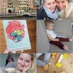 Life with Rosie week 6 + 7 griep, dagje Amsterdam en working life
