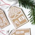Maak deze prachtige kersthangers van karton!