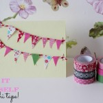 DIY: Washi tape kaartje!