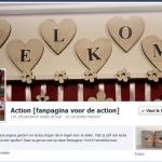 Tip: Action Facebook pagina