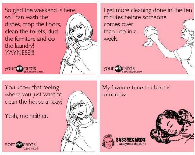 Huisvrouwenpraat deel 5: schoonmaak tips en tricks! Life