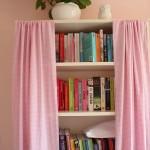 Do it yourself: gordijnen voor Billy boekenkast Ikea