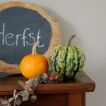 Do it yourself: herfst 'bord'