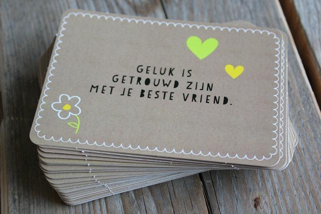 leuke kaarten met spreuken Een blik vol geluk   Life By Rosie leuke kaarten met spreuken