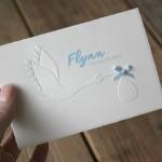 Het geboortekaartje van Flynn