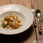 Recept zoete aardappel stamppot rucola
