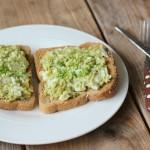 Recept ei-avocado salade