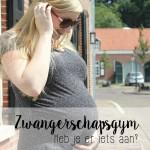 Zwangerschapsgym, heb je er iets aan?