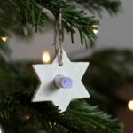 Maak zelf kersthangers met een boodschap er in!