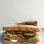 €3,- food challenge: veggie club sandwich!