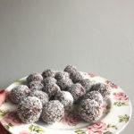 Recept voor snelle, gezonde chocolade/kokos balletjes!